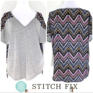 Stitch Fix Indianan Mixed Media Stained Glass